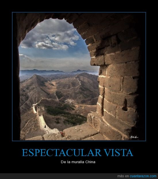 maravilla,muralla china,panorama,torre,vista