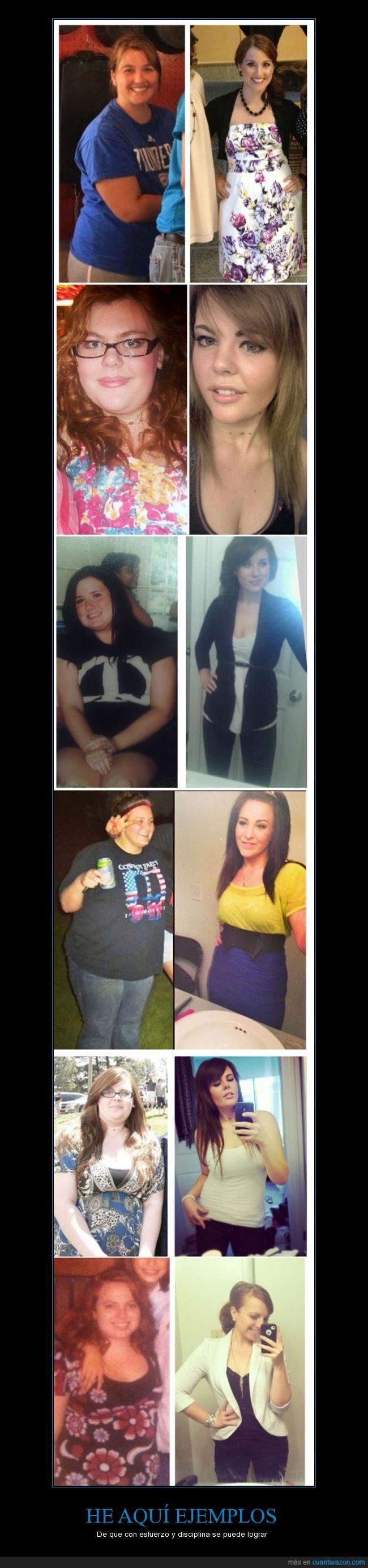 dedicación,delgada,disciplina,Esfuerzo,las gordas no son feas,Perder peso,sólo quieren sentirse bien