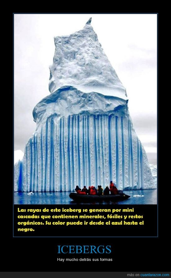 agua,cascadas,formas,fósiles,Icebergs,minerales