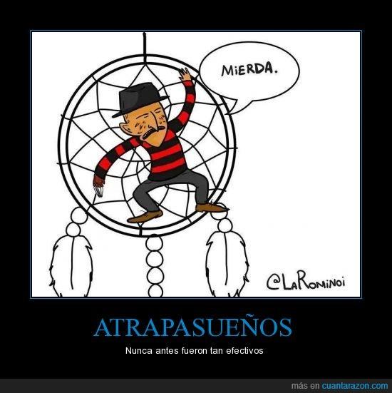 atrapa,Freddy,Krueger,pesadilla,sueño