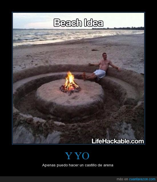 arena,fogata,ingenio,playa