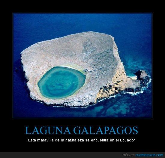 azul,ecuador,galapagos,lago,laguna,maravilla