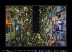 Enlace a UNA CALLE DE HONG KONG