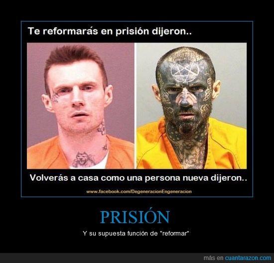 anticristo,cara,Fail,normal,Prisión,satanico,tatuaje