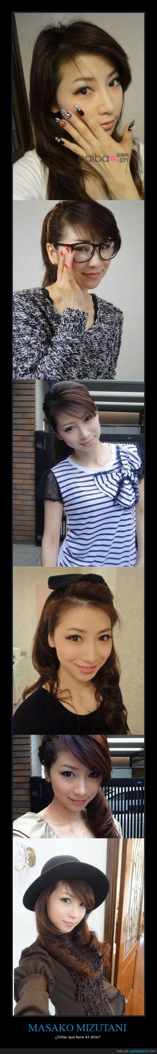asiatica,edad,japonesa,joven,masako mizutani,modelo
