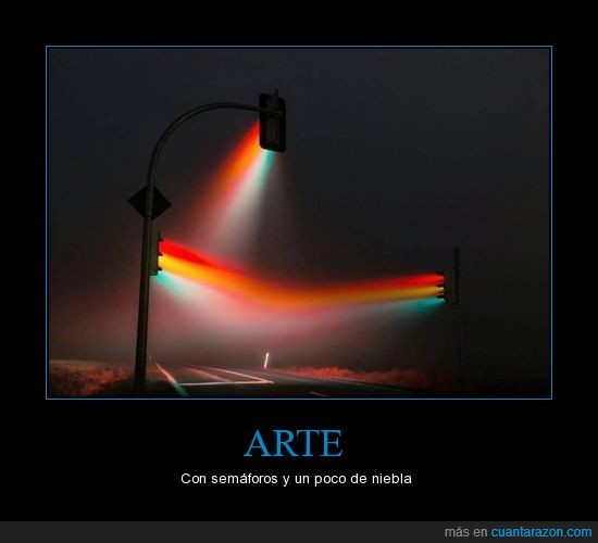arte,color,niebla,rayo,semaforos