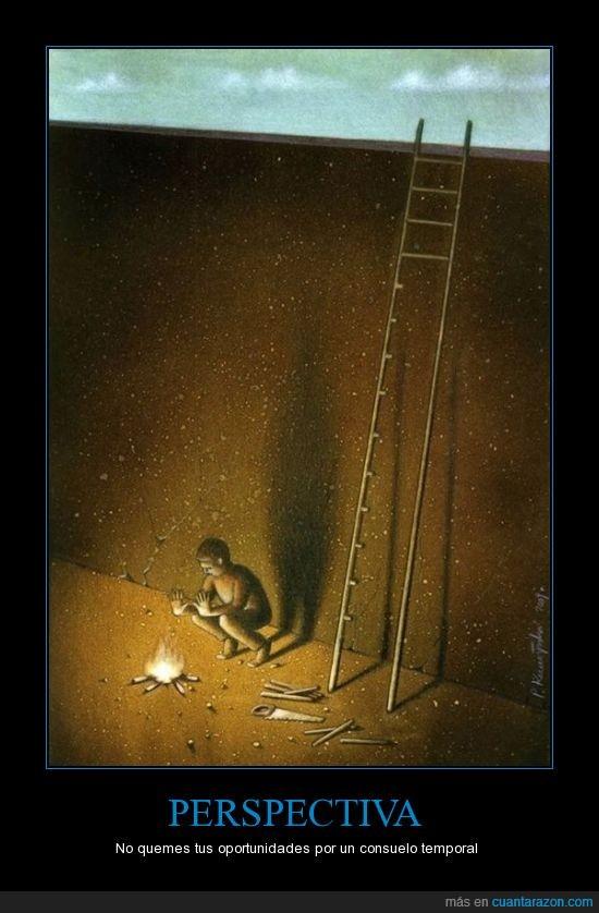 escalera,fuego,futuro,pawel kuczynski,peldaño