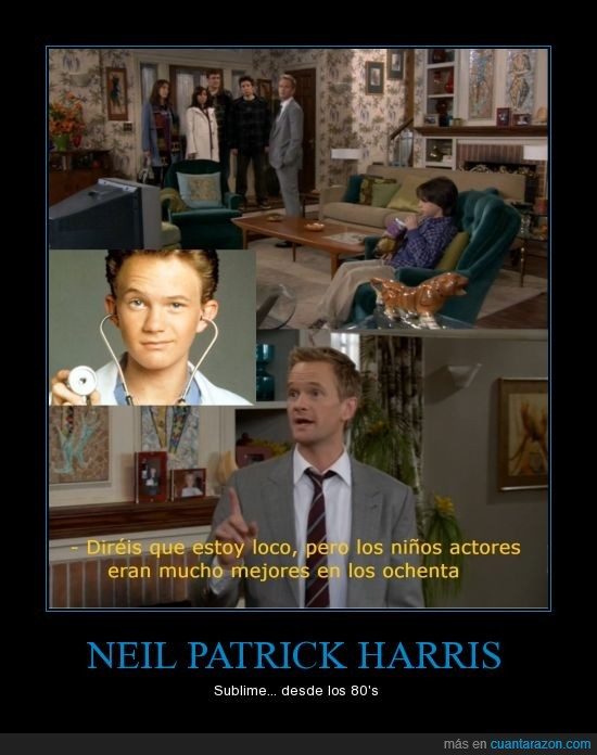 80,como,conocí,Harris,how,i,madre,meet,mother,Neil,Neil Patrick Harris,Patrick,sublime,vuestra,your