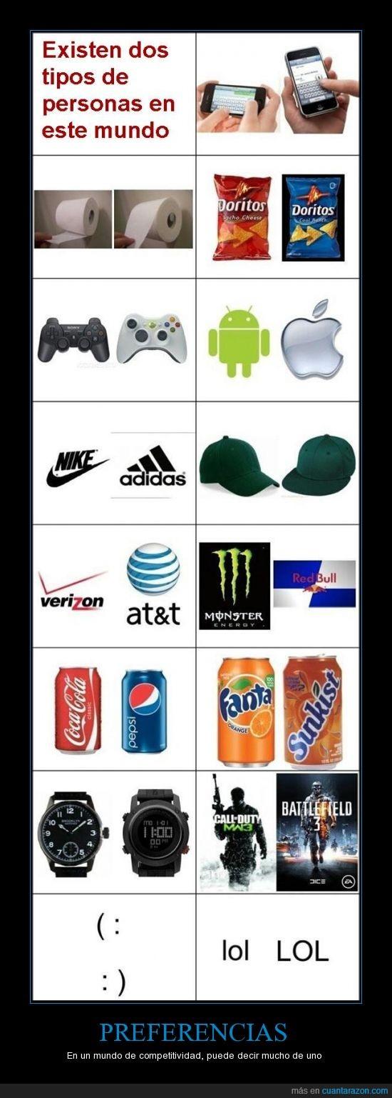 cocacola,competitividad,juego,monster,mundo,opuestos,pepsi,preferencias,redbull