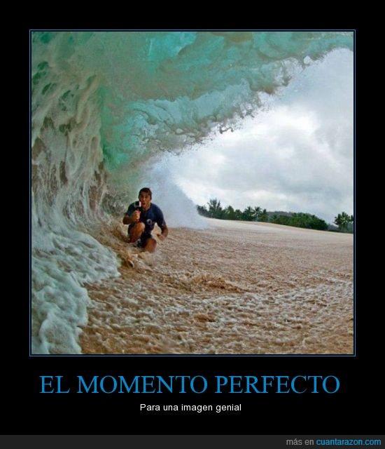 genial,go pro,magnifica,momentos,ola,perfectos,playa,surf
