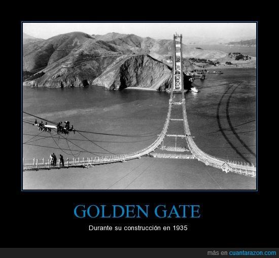 a medias,construcción,Golden Gate,San Francisco