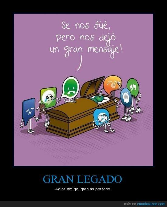 msn messenger,muerte,que mono el osito del Line,todos ligamos alguna vez con messenger,tumba,whatsapp