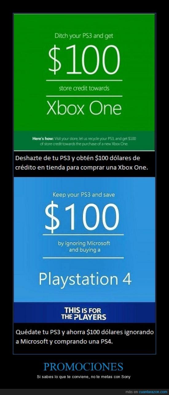 Consola,Juegos,Microsoft,PS4,Sony,Videojuegos,Xbox One