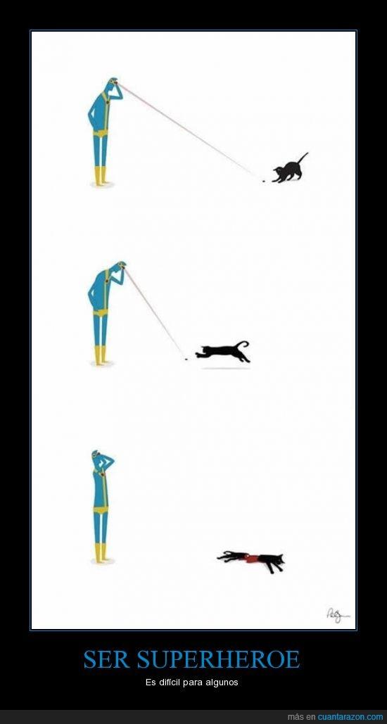 ciclope,Gato,laser,muerte,rayo
