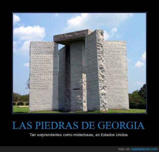 E.U.,georgia,Historia,Misterio,Paz,Piedras