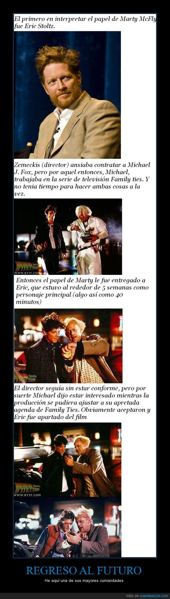 actor,back to the future,eric stoltz,marty mcfly,michael j fox,personaje,primero,reemplazo,regreso al futuro