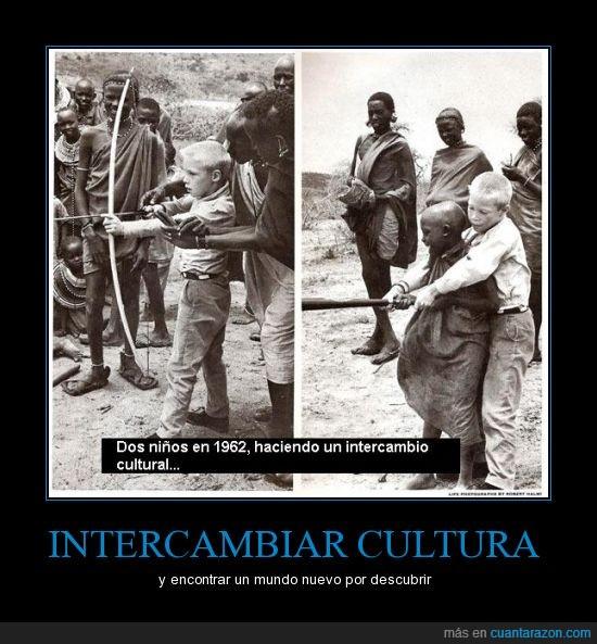 1962,blanco,cultura,descubrir,mundo,negro,niños,nuevo,tribu