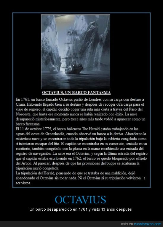 abandonado,Ártico,atrapados,barco fantasma,congelados,hielo,maldición,muerte,tripulación congelada