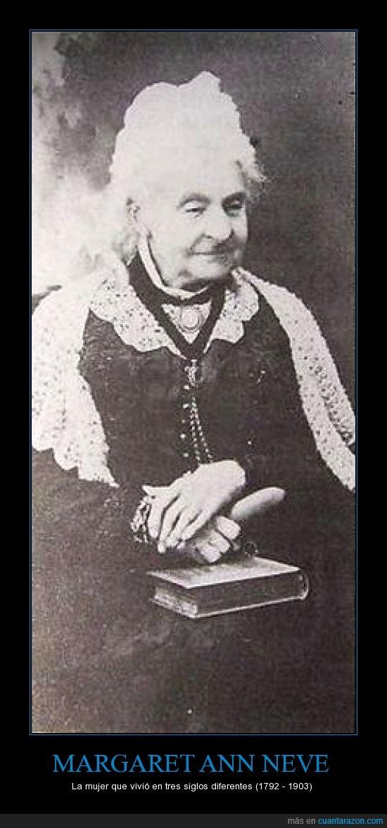 110 años,MARGARET ANN NEVE,siglos,supercentenaria,vivio