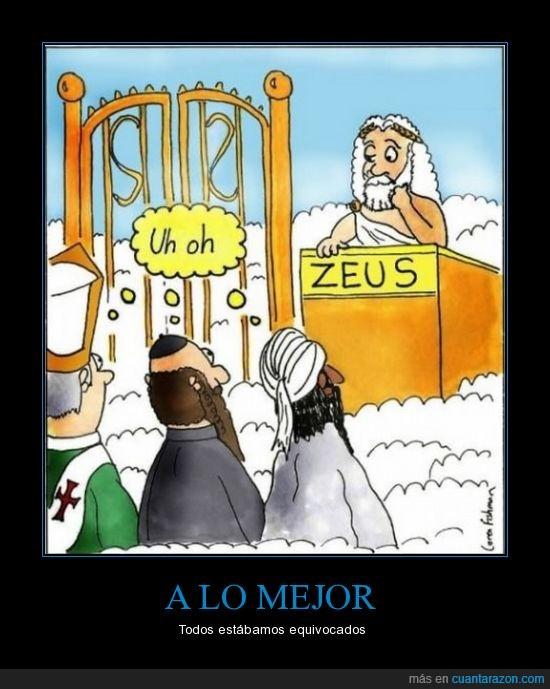 dios,dios no existe,grecia rocks,incultos,miedo a la muerte,mola,zeus