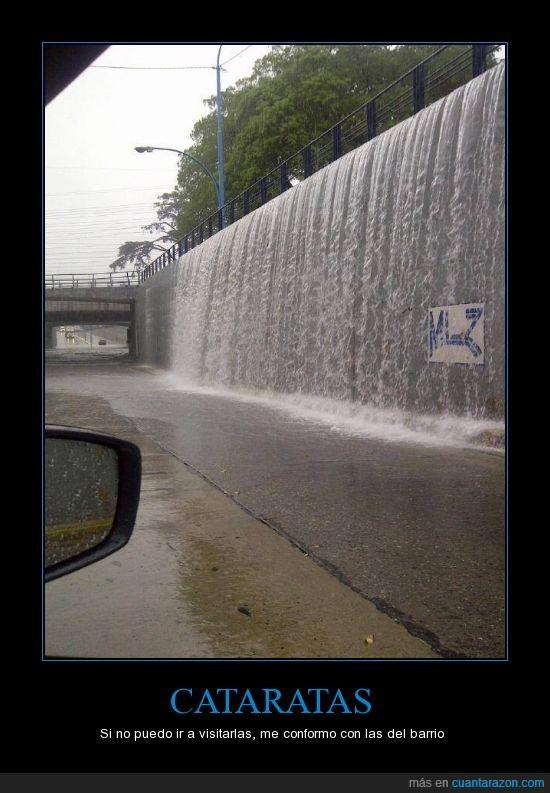 agua que moja,cataratas,inundacion,lluvia,paso a nivel,temperley,tunel