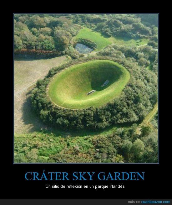 artificial,grater artificial,irlanda,James Turrell,sky garden