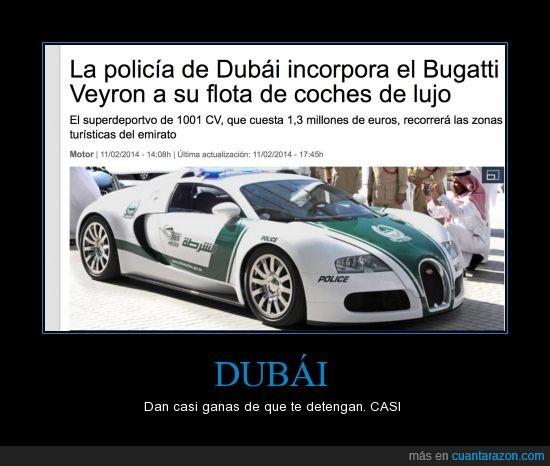 bugatti,coche,detener,dubai,policia,veyron