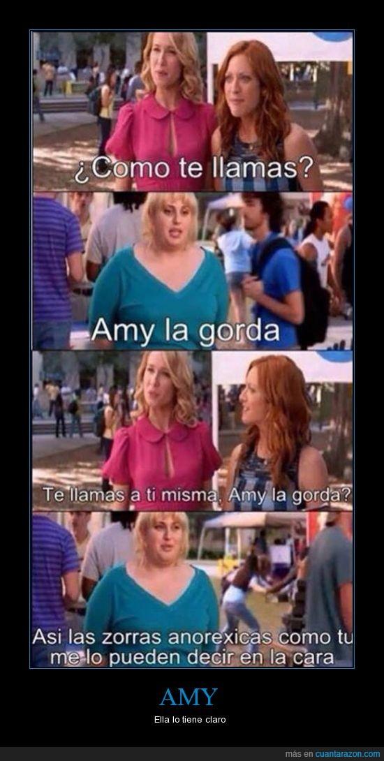 Amy,anorexia,anorexicas,autoestima,gorda,la mujer de atras de Amy está robando algo,mujeres,quererse