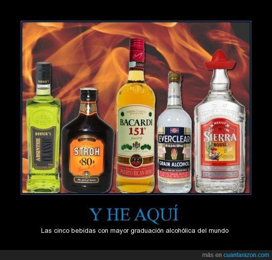 95'5%alcohol,absenta,alcohol,everclear,grado,stroh,tequila