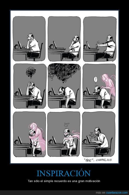 amor,escribir,escritor,motivación,musa,ordenador,Recuerdo,trabajo