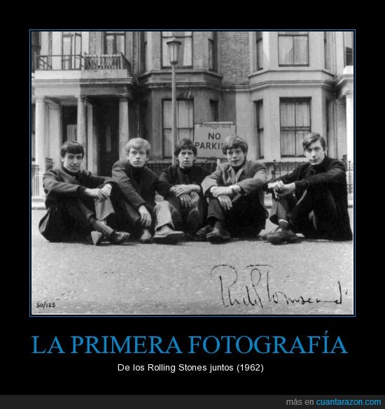 primera fotografia,rock and roll,rolling stones