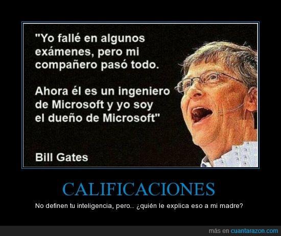 bill,calificaciones,compraron nokia,dueño,empresario,gates,ingeniero,microsoft,notas