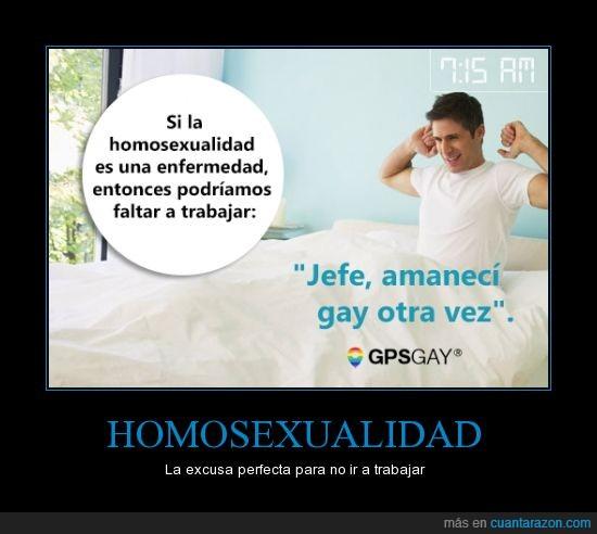 Ser homosexual que es