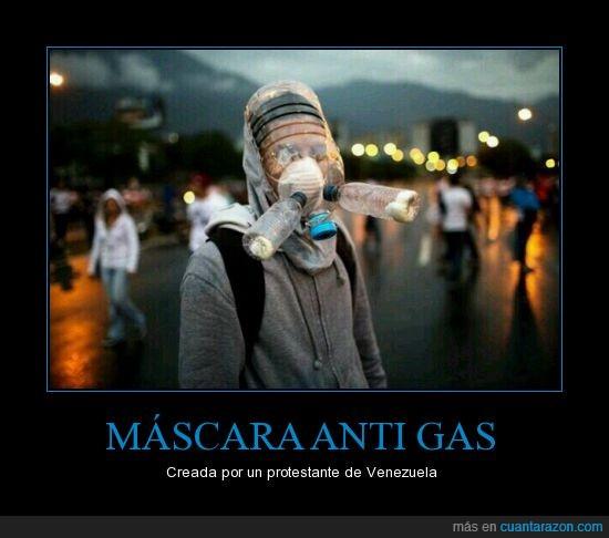 antigas,mascara,Realidad,SOS,Venezuela