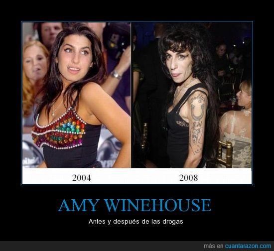 Amy,Deterioro,Drogas,Winehouse