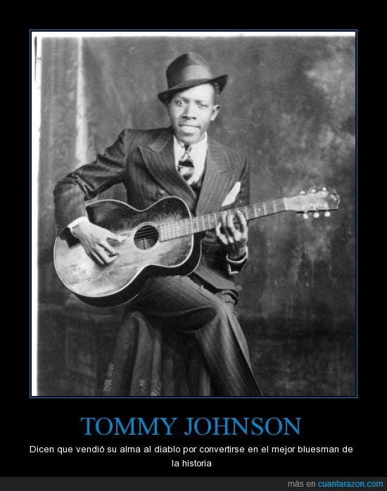alma,Blues,diablo,Mississippi.,Tommy Johnson,vender