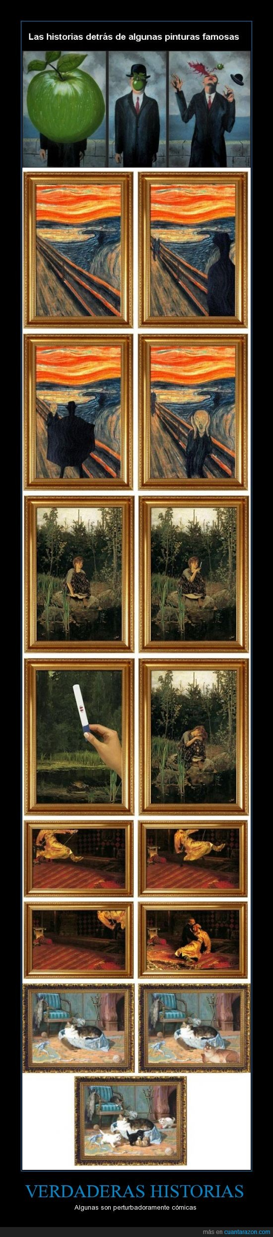 arte,historias,la del grito me ha matado xDD,pinturas,verdaderas