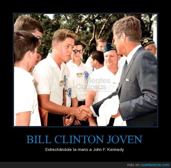 Bill Clinton,John F. Kennedy,Presidentes,USA