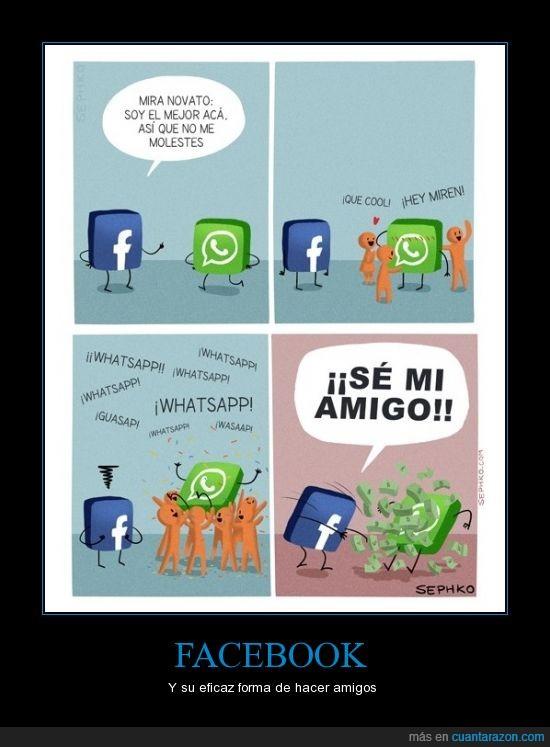 amigo,comprar,dinero,facebook,se,whatsapp