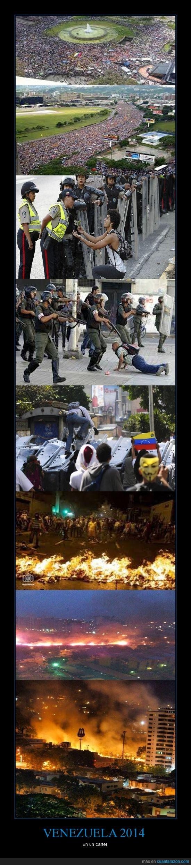 2014,conflictos,gobierno,marchas,protestas,Venezuela