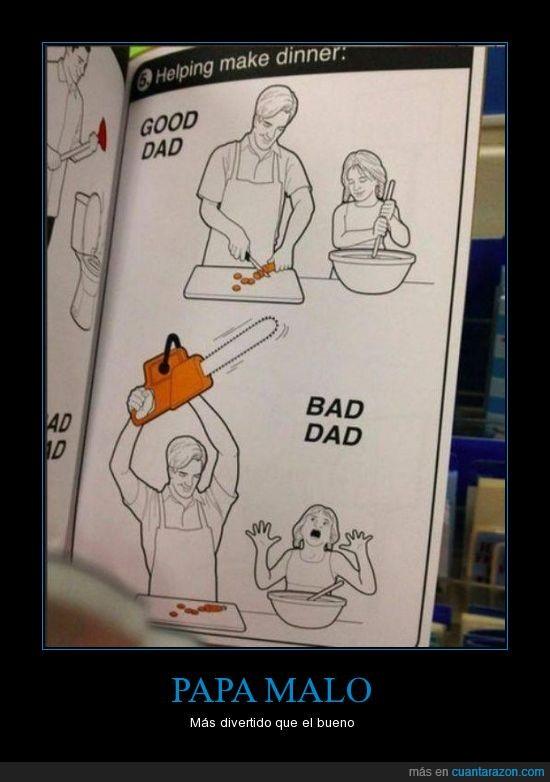 divertido sierra electrica muere zanahoria¡¡ niña apron
