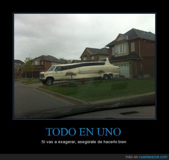 camioneta,exagerar,limosina,modificado,Todo,uno,yate