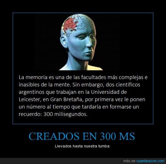 300,Argentina,cerebro,Gran Bretaña,Inglaterra,memoria,milisegundo,ms,No,recuerdo
