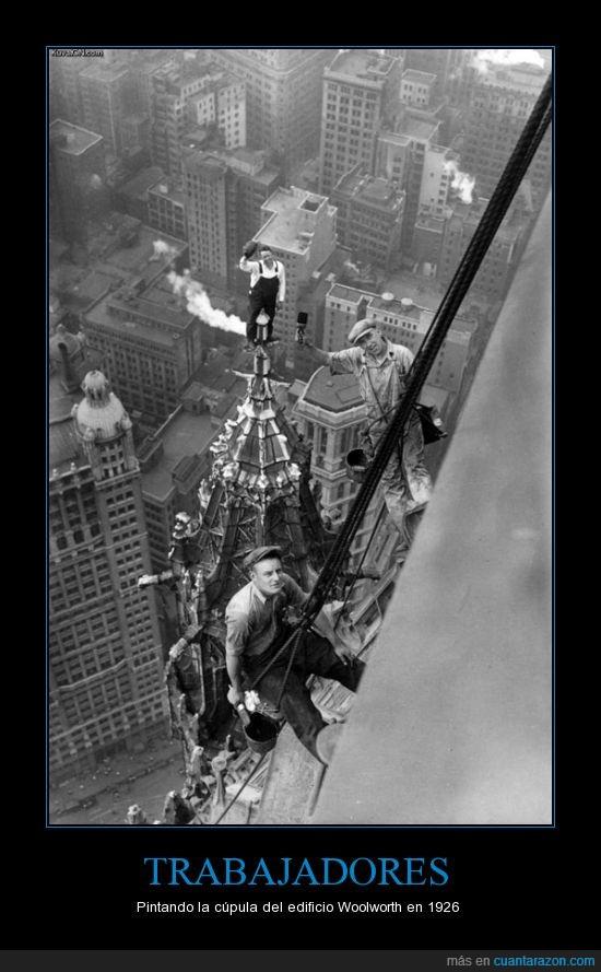 241 metros,New York,NY,pintar,rascacielos,vértigo
