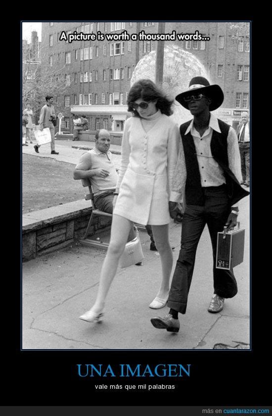 1965,blanca,fotos,negro,odio,paleto,pareja,racista