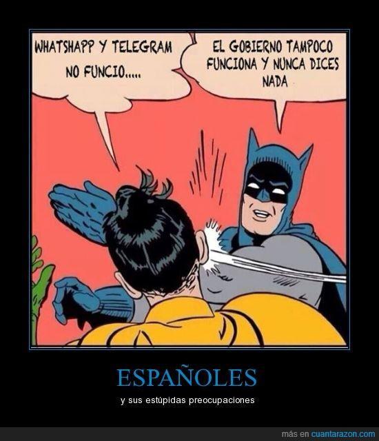 España,Gobierno,Politica,Telegram,WhatsApp