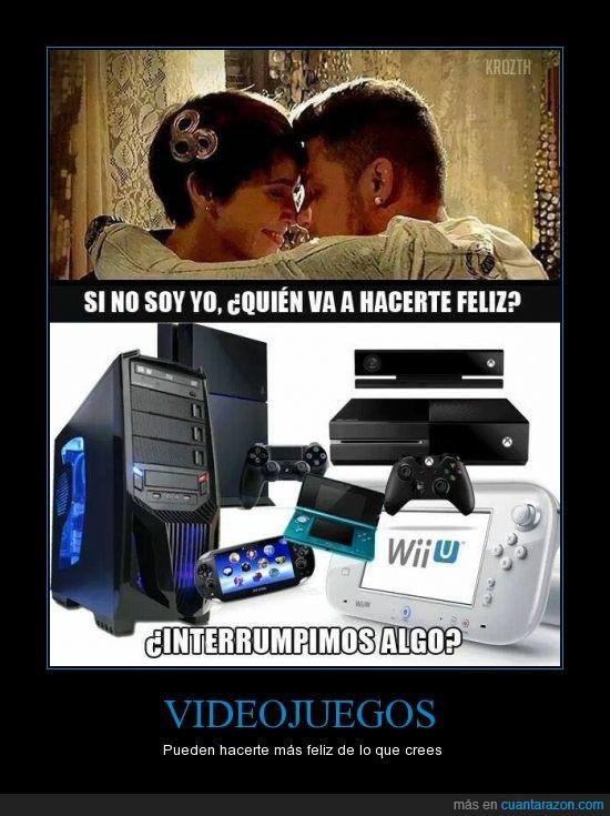 amor,juegos,mujeres,novia,novio,pc,ps4,wii u,xbox one