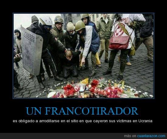 algunos disfrutan matar gente por eso se vuelve oficiales,Terror,ucrania,violencia