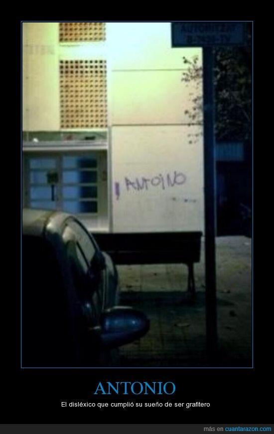 antoino,antonio,graffiti,pared