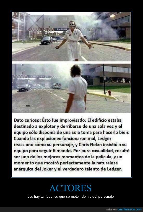 actor,explosión,hospital,improvisar,Joker